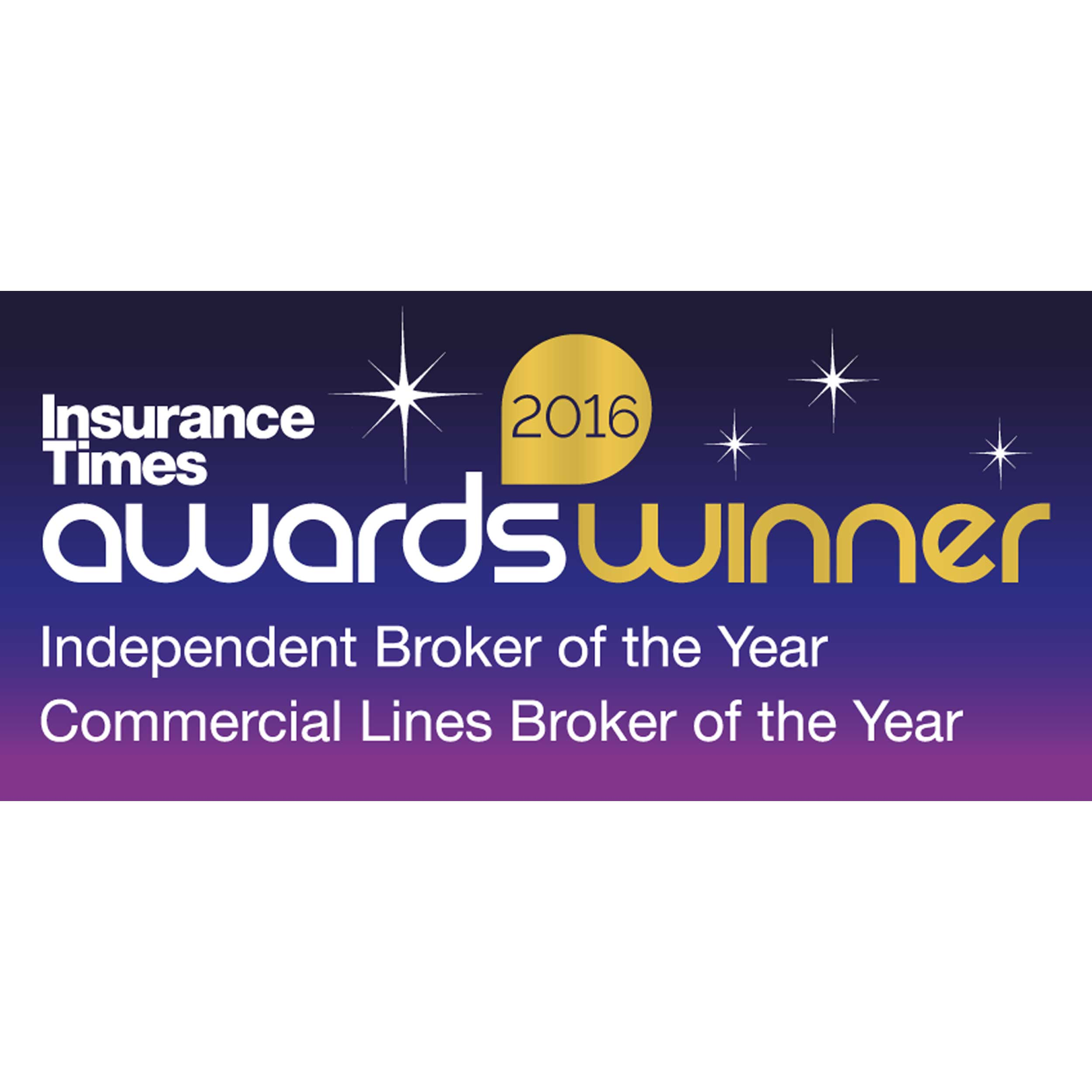Insure Times Awards Winner