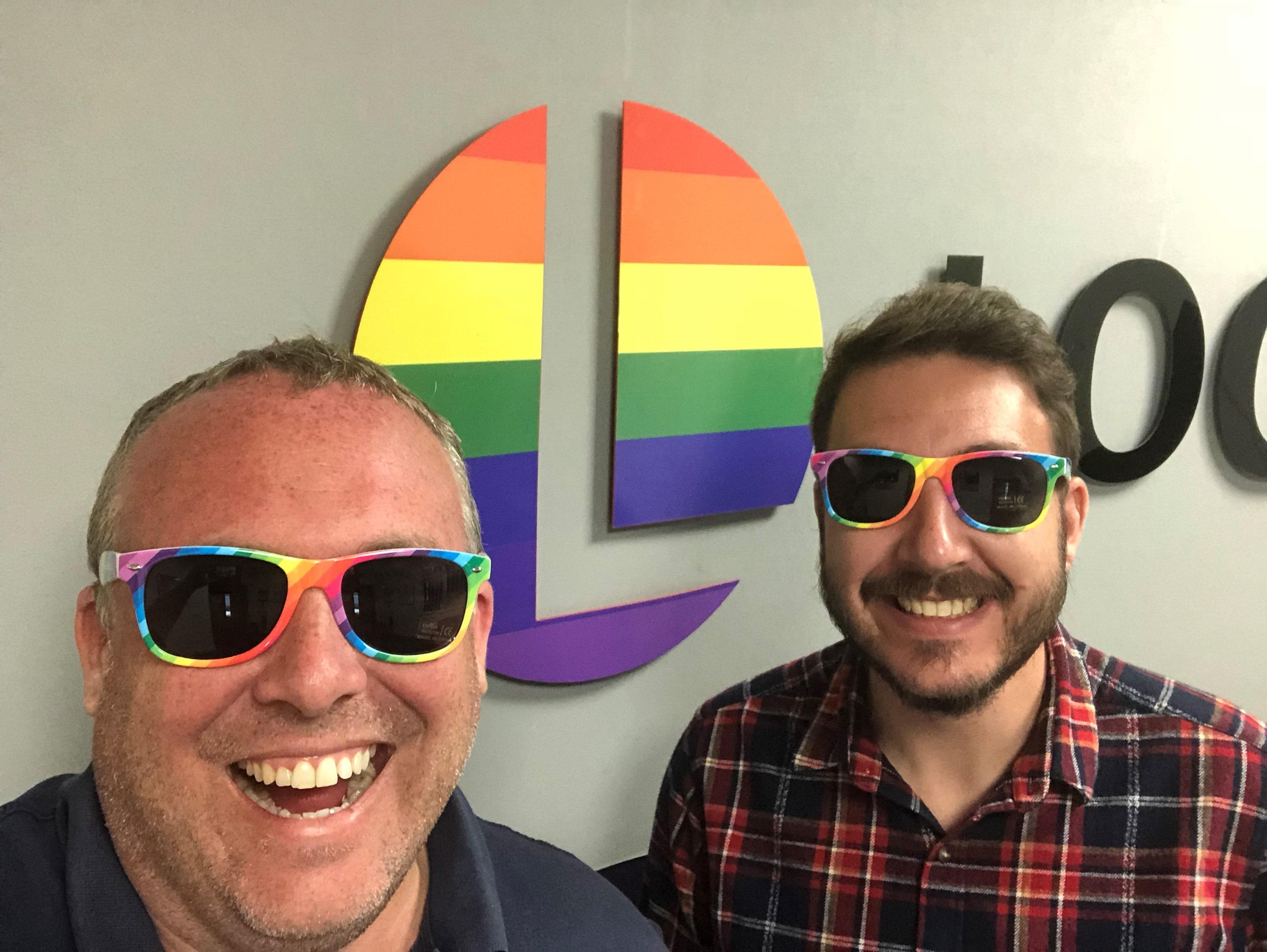 Leeds Pride Lockyers Sunglasses