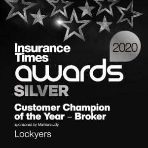 Insurance Times Customer Champion of the Year Award - Broker 2020